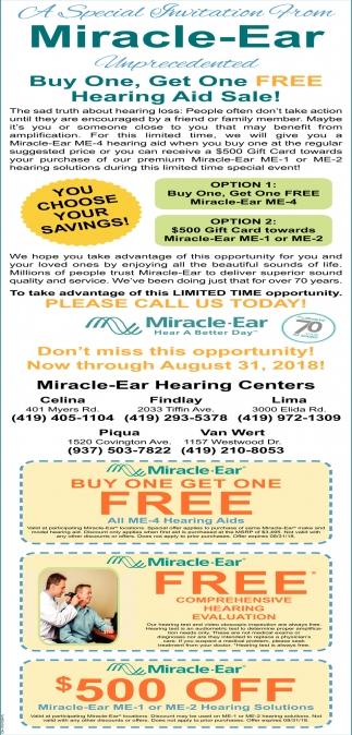 Hearing Aid Sale