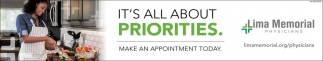 Make an appointment today