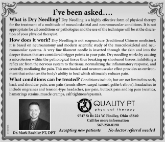 Dr. Mark Boehler PT, DPT