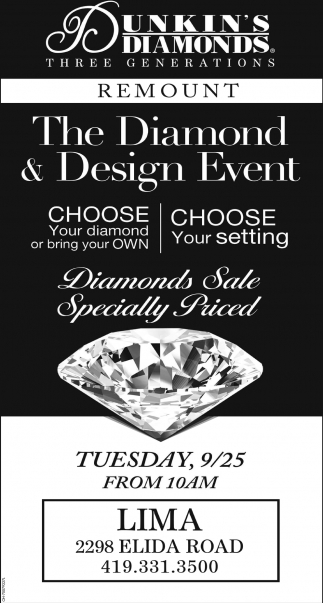 The Diamond & Design Event