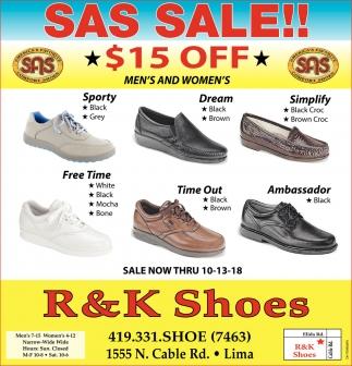 SAS Sale!