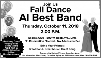 Fall Dance Al Best Band