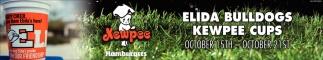 Elida Bulldogs Kewpee Cups