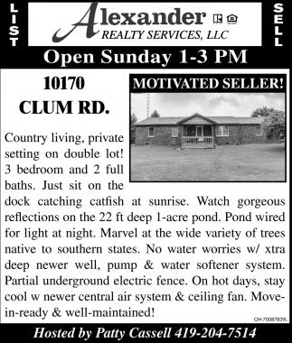 10170 Clum Rd