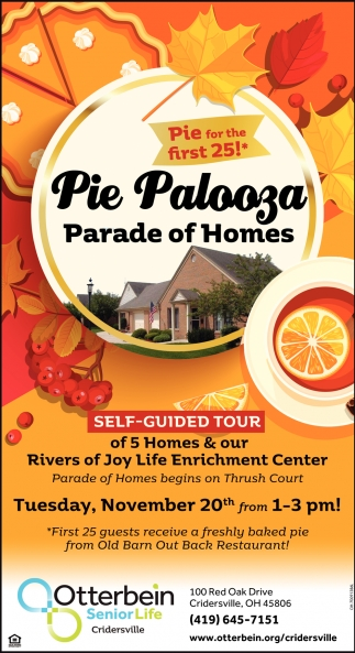 Pie Palooza Parade of Homes