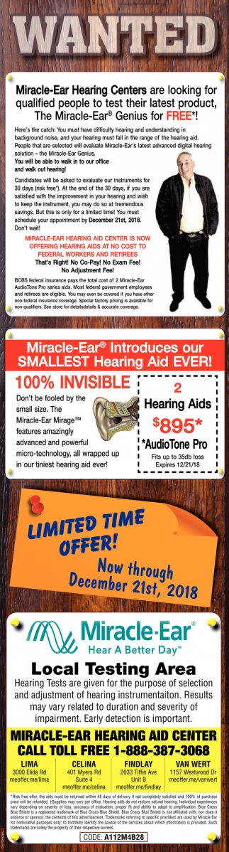 Miracle Ear Genius for FREE
