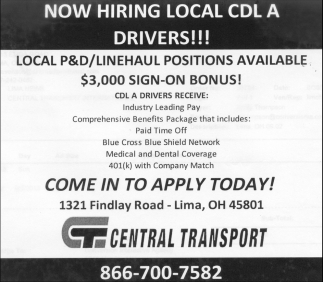 CDL A Drivers
