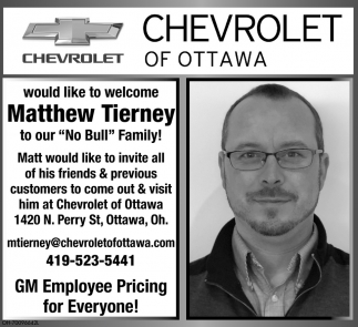 Welcome Matthew Tierney