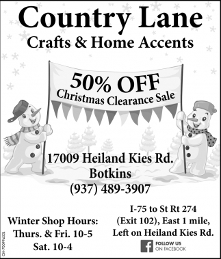 50% off Christmas Clearance Sale