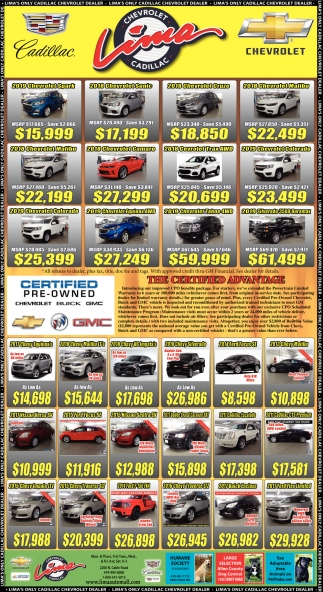 Certified Pre-Owned Chevrolet, Buick, GMC