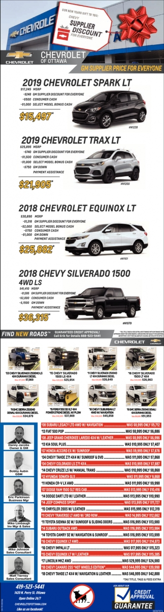 GM Supplier price for everyone