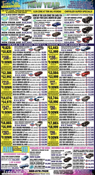 Happy New Year Sales Event