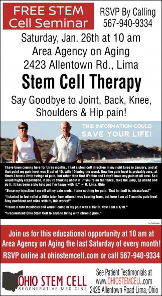 FREE Stem Cell Seminar