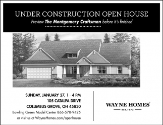 Under Construction Open House