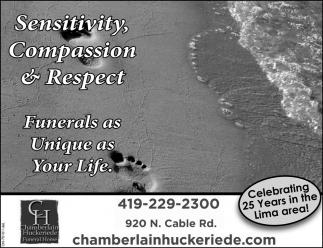 Sensitivity, Compasion & Respect