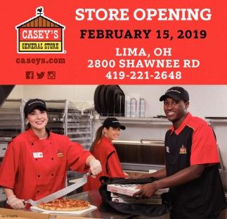 Store Opening - February 15
