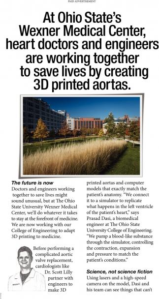Creating 3D printed aortas