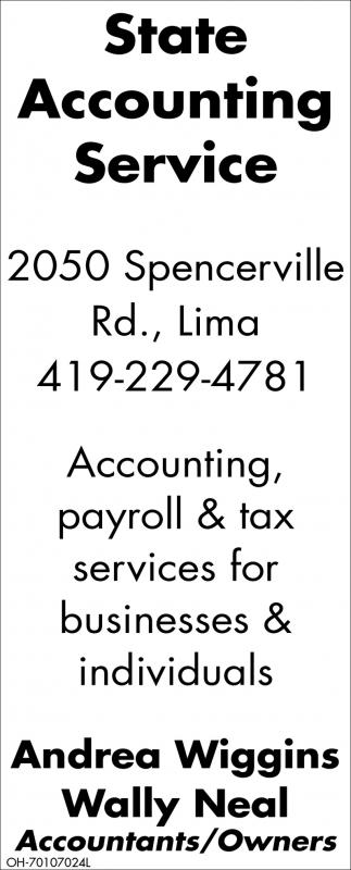Accounting, payroll & tax