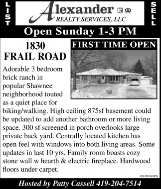 1830 Frail Road