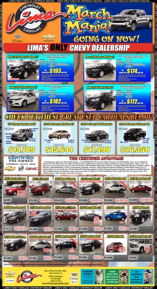 Lima's Only Chevy Dealership