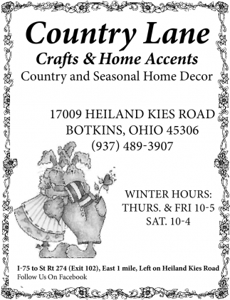 Country and Seasonal Home Decor