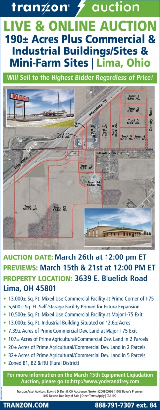 Live & Online Auction