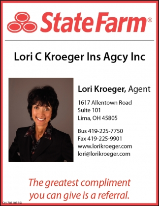 Lori C Kroeger Insurance Agency Inc