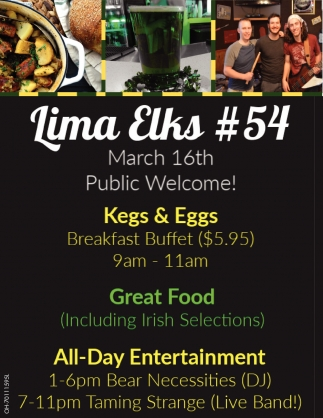 Kegs & Eggs - Great Food