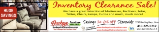 Inventory Clearence Sale!