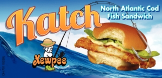 North Atlantic Cod Fish Sandwich