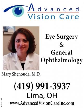 Eye Surgery & General Ophtalmology
