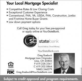 Your Local Mortgage Specialist