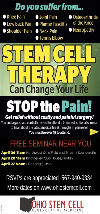 Stem Cell Therapy Can Change Your Life