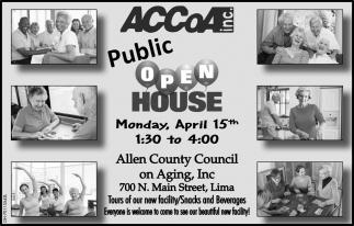 Public Open House