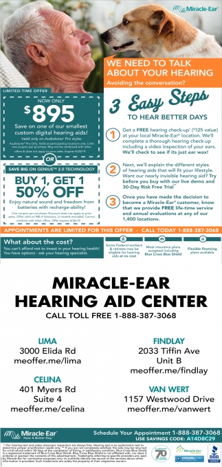 Now Only $895 - Save on one of our smallest custom digital hearing aids!
