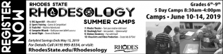 Rhodesology Summer Camps