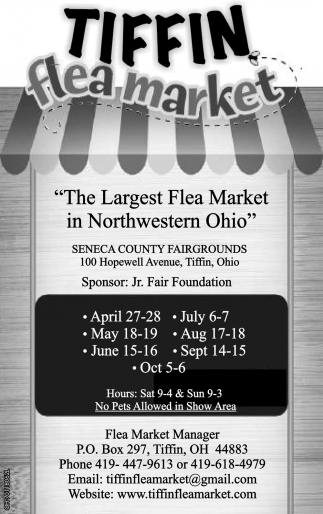 The Largest Flea Market in Northwestern Ohio