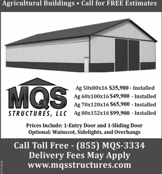 Agriculture Buildings - Call for Free Estimatess