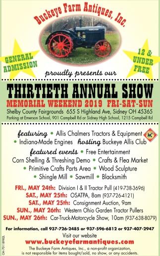 Thirtieth Annual Show