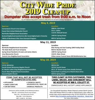 City Wide Pride 2019 Cleanup