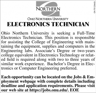 Electronics Technician