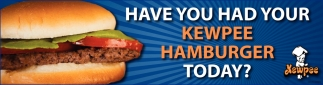 Have you had your Kewpee Hamburger today?