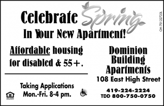 Celebrate Spring In Your New Apartment!