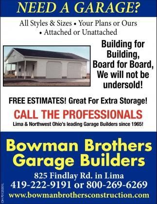 Need a garage?