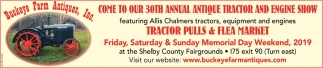 30th Annual antique Tractor and Engine Show