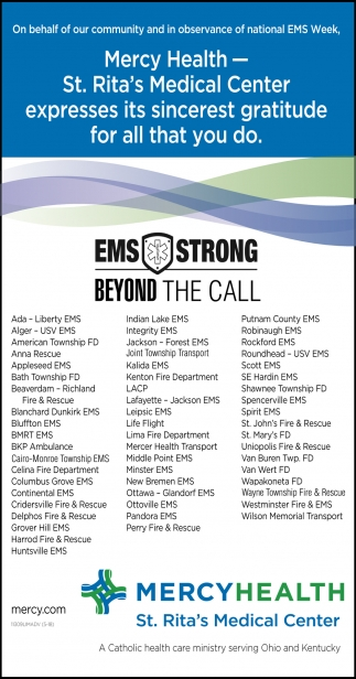 EMS Strong Beyond the Call