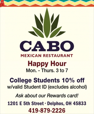 College Students 10% off