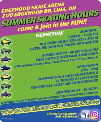 Summer Skating Hours