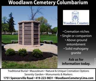 Woodlawn Cemetery Columbarium