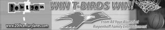 Win T-Birds Win!